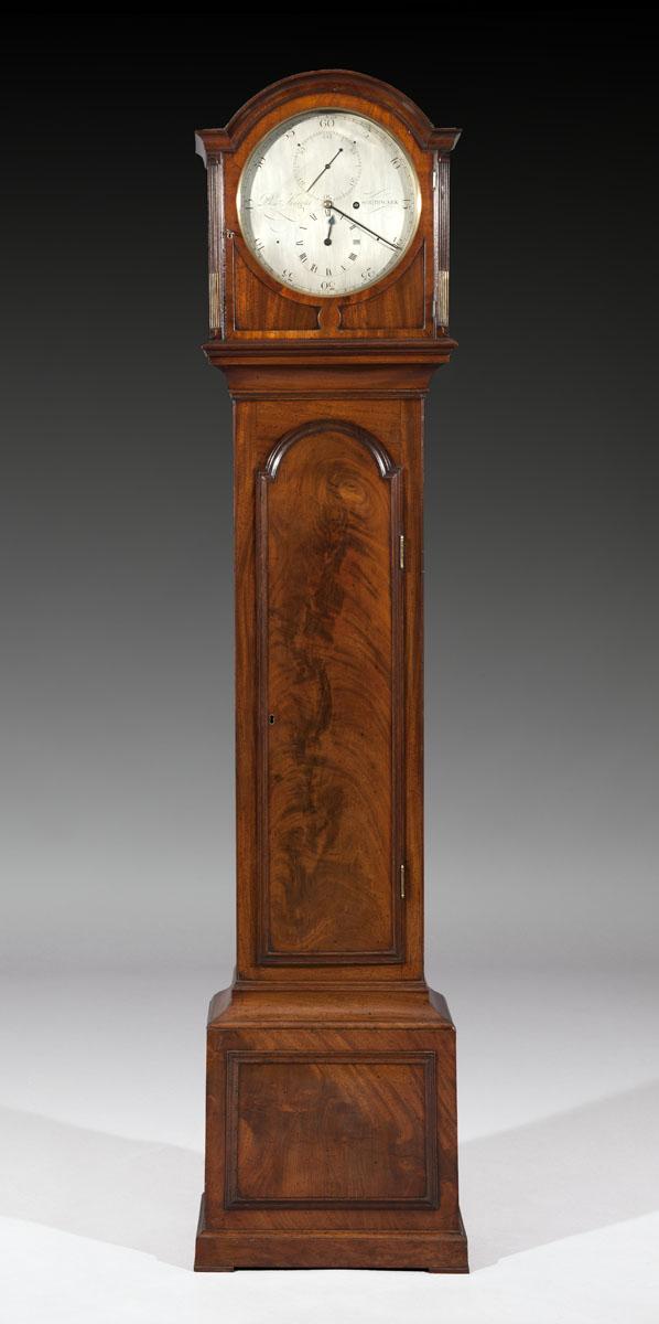 Ottery Antiques Archive Mahogany Regulator Longcase