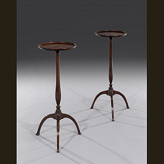 Pair of Wine or Lamp Tables